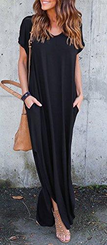 online store 08160 2b160 Donna Vestiti Lunghi Eleganti Estivi Vestito da Giorno ...