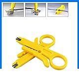 TianranRT 2pcs RJ45 Cat5 Punch Down Werkzeug Netzwerk UTP LAN Kabel Draht Cutter Stripper Werkzeug (Gelb,2X)
