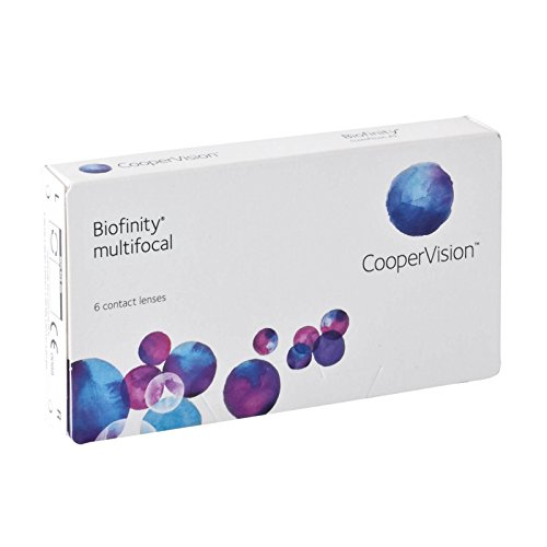 Biofinity Multifocal - D-Profil Monatslinsen weich, 6 Stück / BC 8.60 mm / DIA 14.00 / ADD LOW / 2.50 Dioptrien