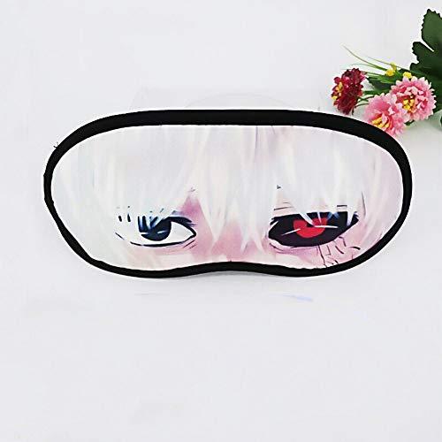 Augenmaske Kühlend-Anime Brille Schlaf Augenmaske Andere Welt Yin Yang Division Brille Unisex-Augenmaske
