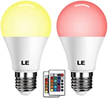 LE Bombillas LED RGB E27 3600006 3600023