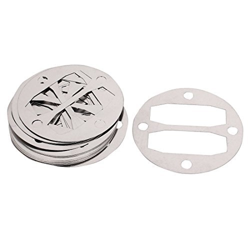 20 Stück Aluminium-Rundluftkompressor Zylinderkopfdichtungen Unterlegscheiben