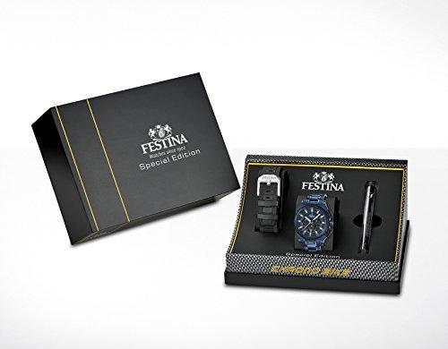 Festina Herren-Armbanduhr SPECIAL EDITIONS Analog Quarz Edelstahl F16972-1