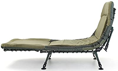 Cyprinus Memory Foam bed chair bedchair for carp fishing, put me up bed or luxury camping chair or guest bed 6 leg bedchair from Cyprinus