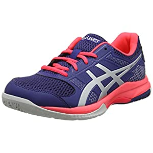 ASICS Damen Gel-Rocket 8 Volleyballschuhe, Pink, 43.5 EU