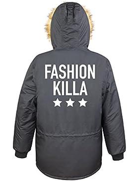 Fashion Killa Parka Girls Nero Certified Freak