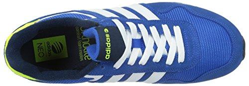 Bajas Hombre azul Ftwr Adidas Blau Azul Blanco De Azul Marino Zapatillas Deporte 10k Colegial XqxfwTxI8