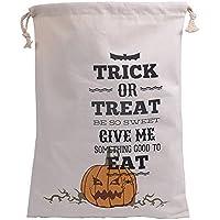 CCINEE 48,3x 35,6cm Halloween regalo tela sacco con coulisse Cord, S1, 19 X 14 (Piccola Tela Totes)