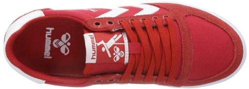 hummel  HUMMEL SLIMMER STADIL LOW, Baskets pour homme Rouge - Rot (RIBBON RED)