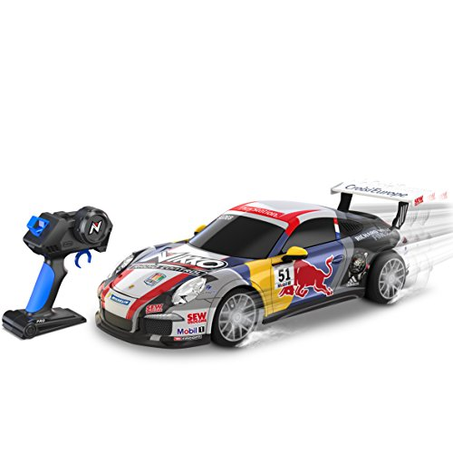 Nikko 011543941385 Disney Toy State-1: 16Scale Street Cars Porsche 911