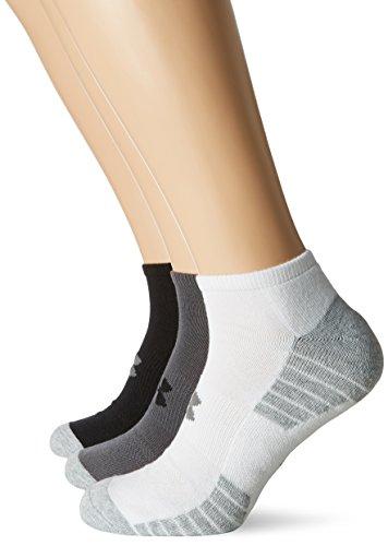 UNDAS:Under Armour Herren UA Heatgear Tech Noshow 3PK Socken, Graphite, MD (Under Armour Herren Socken)