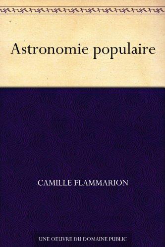 Couverture du livre Astronomie populaire