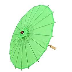 Chinese Asian Oriental Japanese Dancing Umbrella Parasol 57cm Green