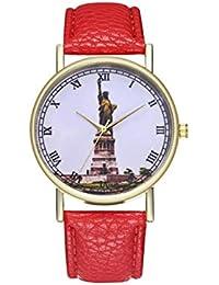ADream Vintage Estatua de la Libertad York Ellis Island Ladies Fashion Watch cumpleaños