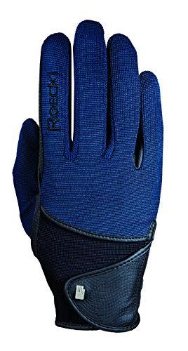 Roeckl Sports Handschuh Madison, Unisex Reithandschuh, Marine 7