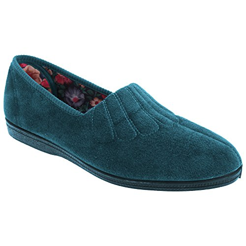 Sleepers Zara - Chaussons larges - Femme Vert