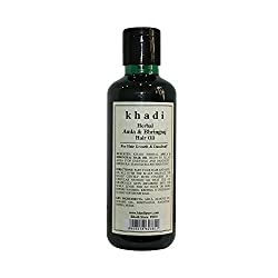 Khadi Herbal Amla & Bhringraj Hair Oil - 210ml