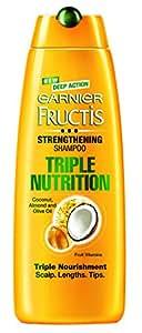 Garnier Fructis Strengthening Shampoo Triple Nutrition, 340ml