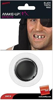 Smiffys Déguisement, Cire pour les dents, Noir, 24414