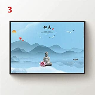 JackGo7 Painting Mountain Minimalism Drawing Canvas Wall Art Painting Poster Picture Print Home Decor Unframed (3,12X18inch/30x45cm)