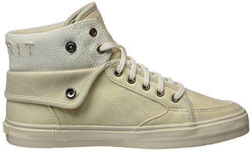 Esprit Star, Sneakers Hautes Femme Beige (Cream Beige 295)