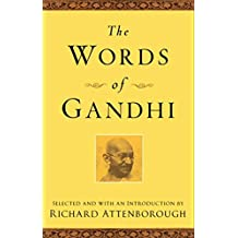 The Words of Gandhi (Newmarket Words Of Series)