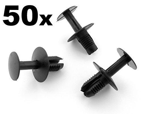 vehicle-clips-fcp-0198x00050-50x-agrafes-pour-vehicules-rivet-clip-plastique-pare-chocs-garniture-ha