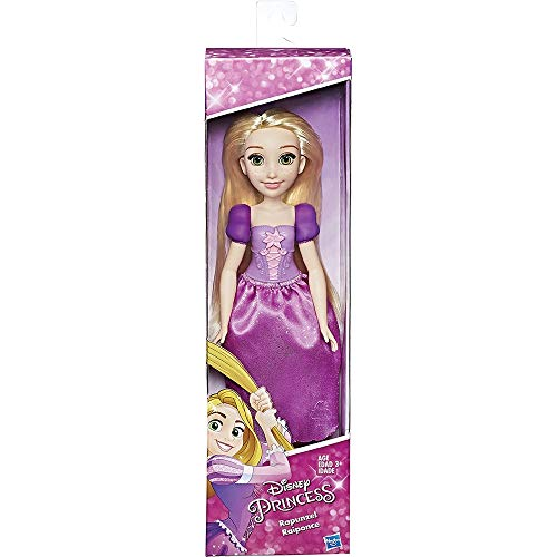 Disney Princess Rapunzel Fashion Doll, Toy Doll for 3 Year Old and Up