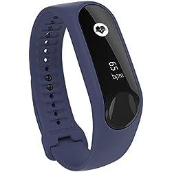 TomTom Touch Cardio Fitness Pulsera de Actividad, Unisex, Violeta, S