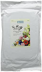 Squires Kitchen Edible White Sugar Florist Paste 1 kg