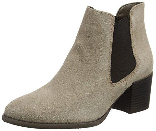 Tamaris Damen 25381 Chelsea Boots, Braun (Taupe), 36 EU Warehouse Deals Schuhe Frauen