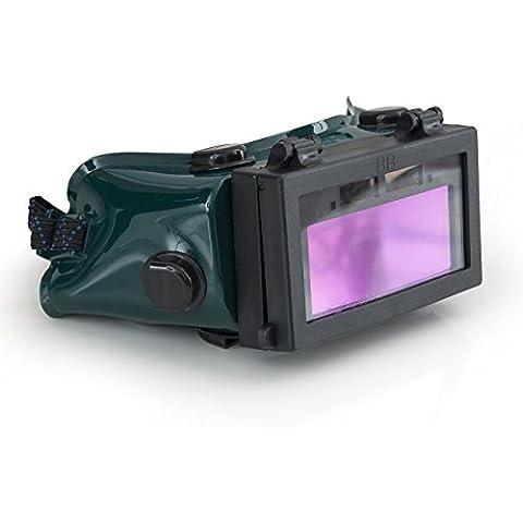 SINOSHON oscurecimiento automático de soldadura Gafas de 4-1/4