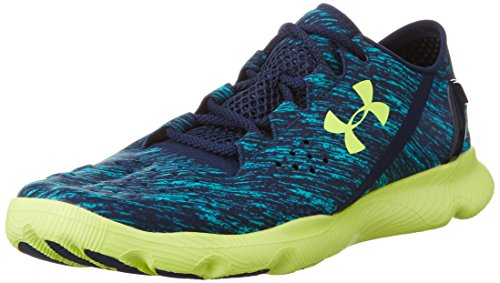 2015 Schuhe Herren Armour Under (Under Armour UA Speedform Apollo Twist, Herren Laufschuhe, Blau Pac 478, 42.5 EU)