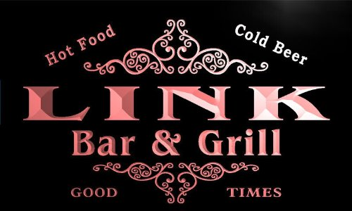 u26585-r-link-family-name-bar-grill-home-beer-food-neon-sign-enseigne-lumineuse