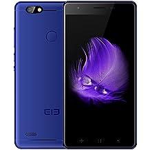 """Telefono Movil Smartphone Elephone C1 Mini Azul / 5"""" / 16Gb Rom / 1Gb Ram / 5 Mpx-2Mpx / Quad Core / Lector De Huella / 4G / Cuerpo Metalico."""
