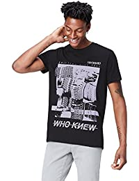 FIND T-Shirt con Stampa 'Who Knew' Uomo