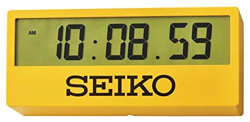 Seiko-QHL073Y Uhr mit Standfuß