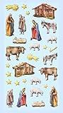 CREApop® Softy-Stickers Weihnachtskrippe