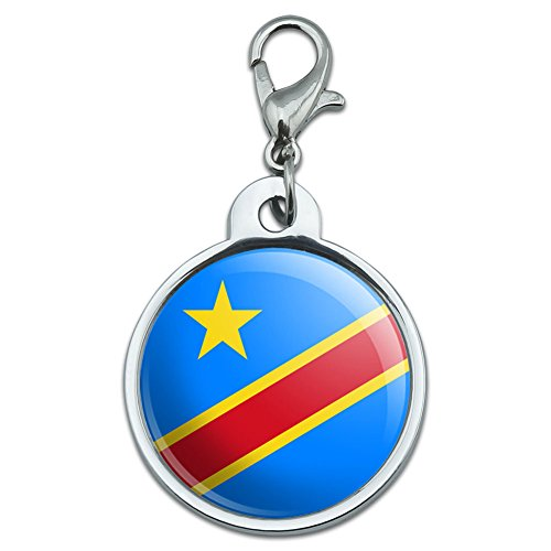 chrome-plated-metal-small-pet-id-dog-cat-tag-country-national-state-flag-c-f-democratic-republic-of-