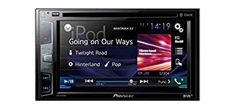 Pioneer AVH-X490DAB 15,7 cm (6,2 Zoll) Touchscreen • DAB+ digitales Autoradio • Media-Receiver mit USB, Bluetooth, CD/DVD, MP3 • für iPhone und Android • Spotify und
