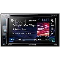 Pioneer AVH-X490DAB 15,7 cm (6,2 Zoll) Touchscreen • DAB+ digitales Autoradio • Media-Receiver mit USB, Bluetooth, CD/DVD, MP3 • für iPhone und Android • Spotify und DIVX
