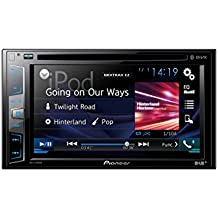 "Pioneer AVH-X490DAB - Pantalla Multimedia Doble (Bluetooth, pantalla táctil WVGA de 6.2"" Clear Type, salida 4 V, sintonizador DAB+ y GEQ de 13 bandas) color negro"