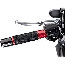 Puños Manillar Moto Puig Honda VTR 250 Ascent rojo