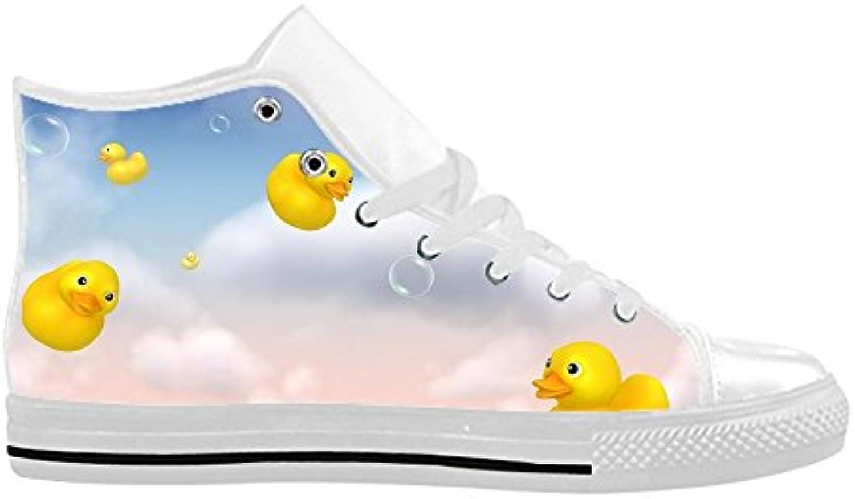 CHEESE Importato Aquila High Top Action Scarpe da da da Uomo in Pelle Comoda Tela scarpe da ginnastica Custom Design Art | Beautiful  886baa
