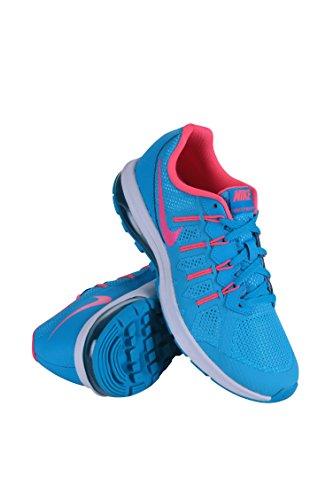 Nike - Air Max Dynasty (Gs), Scarpe da corsa Bambina Blu (Azul (Azul (Gamma Blue / Pink Blast-White)))