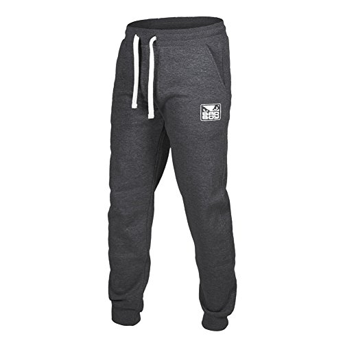 Bad Boy Herren Core Jogger Pants dunkelgrau