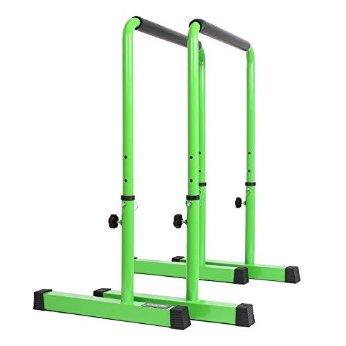 POWER GUIDANCE Dip Bar (Grün) (Stand Bar Dip)