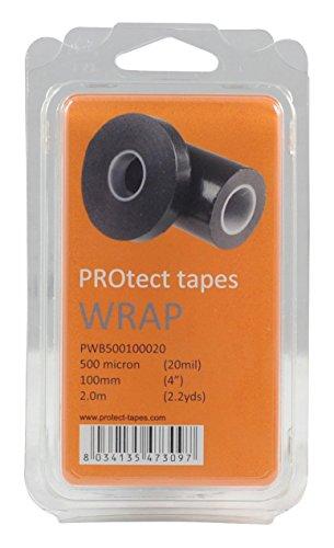 PROtect Tapes Wrap, Nastro Autoagglomerante Velisti, Nero, Unica