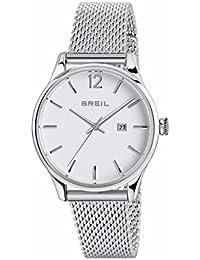 4eba7149a435 Breil Reloj Analogico para Mujer de Cuarzo con Correa en Acero Inoxidable  TW1567