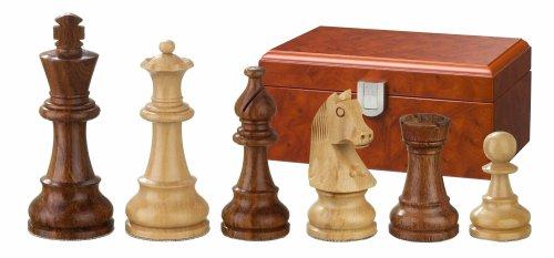 Philos 2062 Sigismund - Piezas de ajedrez (madera, altura del rey 70 mm, en caja)
